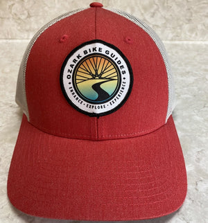 Ozark Bike Guides Classic Logo Hat - Red