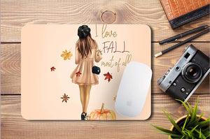 """I Love Fall"" egérpad"