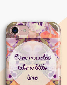 Even Miracles Take a Little Time Telefontok
