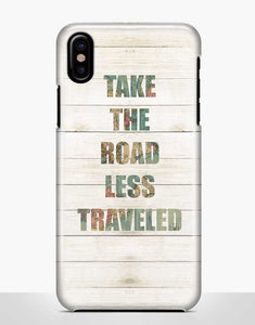"""Take The Road Less Traveled"" feliratú telefontok"