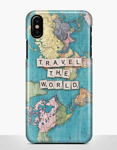 """Travel The World"" feliratú telefontok"