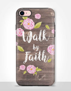 """Walk by Faith"" feliratú erős telefontok"