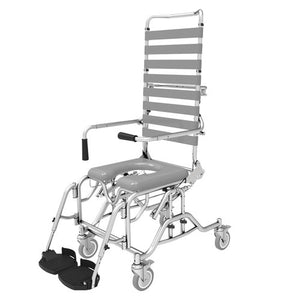 Shower Commode Tilt and Recline - Attendant Propelled (460mm)