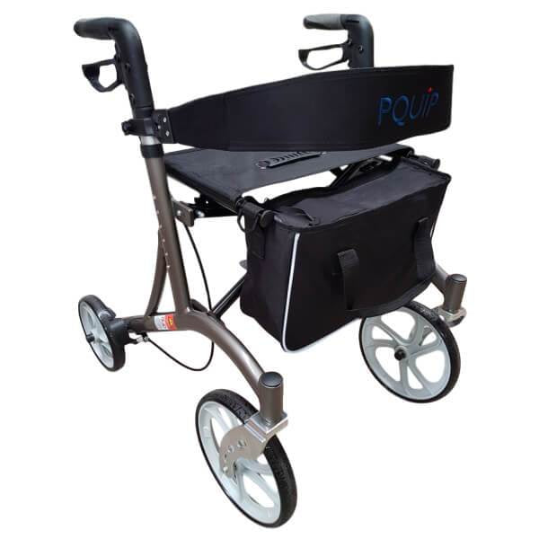 PQUIP Euro X-Fold Heavy Duty Outdoor Walker 10
