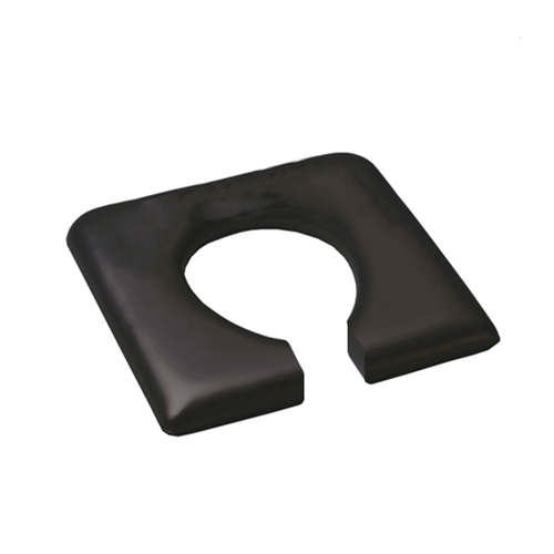 Shower Commode Seat - Open Front - Pressure Reducing (460mm)