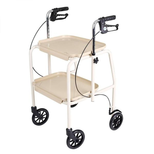 Days Tray Trolley Walker with Handbrakes