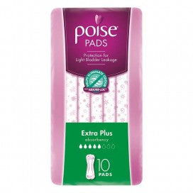 Poise Pads Extra Plus