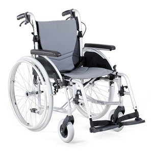 Merits L406 Lightweight Wheelchair (with Attendant Brakes)