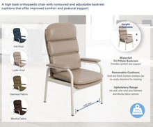 Load image into Gallery viewer, Aspire Waterfall Day Chair High Back