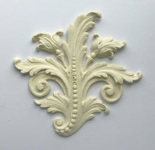 Load image into Gallery viewer, Antoinette baroque leaf (left side) silicone mold