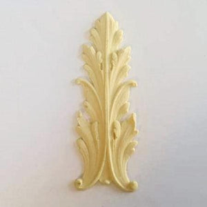 Large Baroque leaf silicone mold
