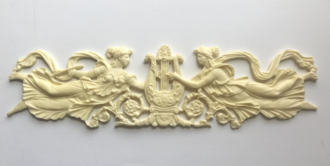 Muses and music silicone mold