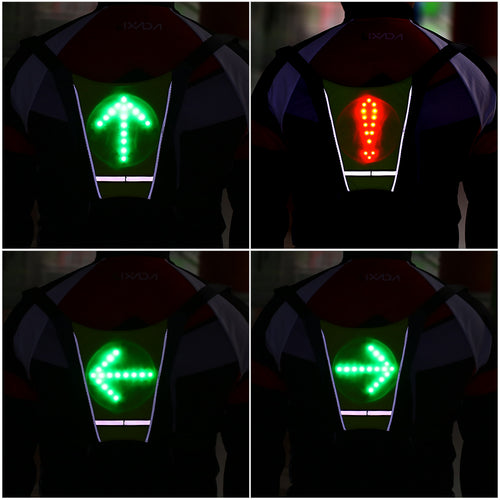 Wireless Reflective Cycling Vest