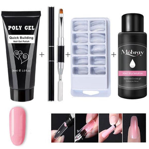DIY Poly Gel Nail Kit