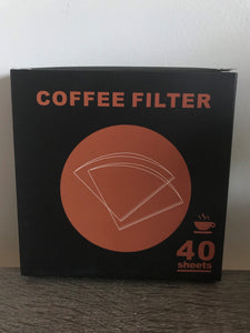 Large V-60 Coffee Filters in 40's - size 02