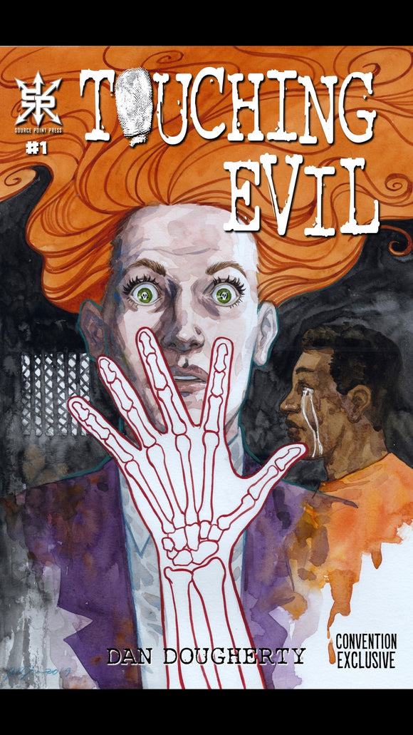 TOUCHING EVIL #1 CONVENTION VARIANT LTD 100