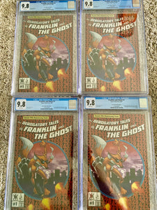 Franklin & Ghost #1 ASM homage metal CGC 9.8