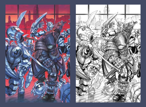 The Last Ronin #3 Yak covers Ltd. 500/250  PRESALE......