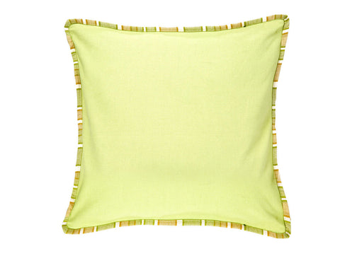 Jodhaa  Cushion Cover in Lemon Color Solid  21CCVA038