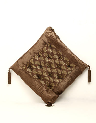 Designer Cushion in Velvet and Brocade by Jodhaa India