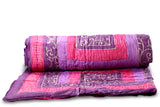 Designer Singles Cotton Printed Quilt/ Razai in Mogul design by Jodhaa India