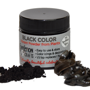 Black Powder Color for Creams/Icing