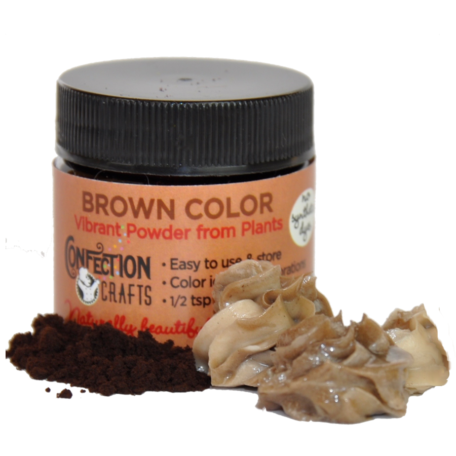 Brown Powder Color for Creams/Icing