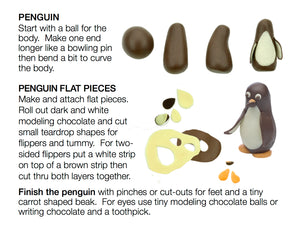 Dark  Modeling Chocolate