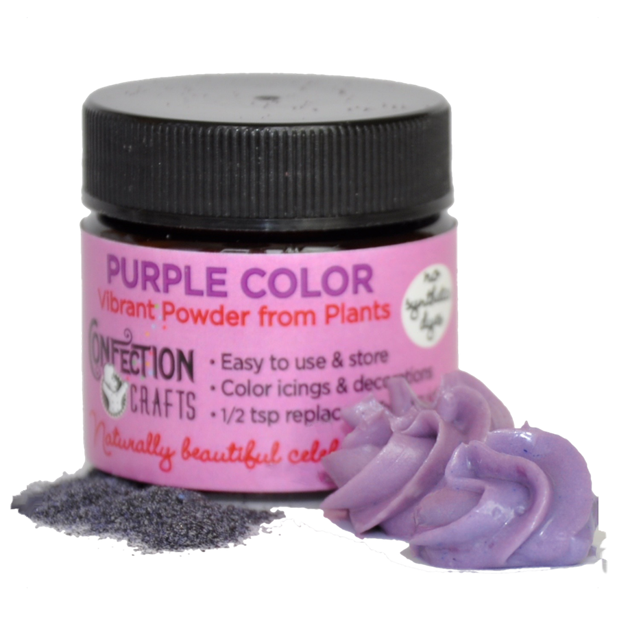 Purple Powder Color for Creams/Icing