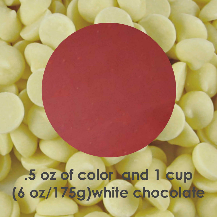 Oil Dispersible Red Cocoa Butter Color