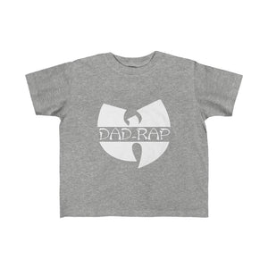 Product of Dad Rap Toddlar Tee