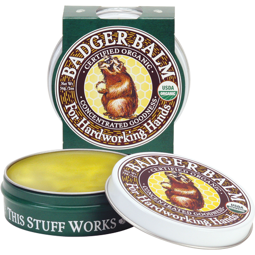 Badger Balm Concentrated Relief for Hardworking Hands 2oz 56g