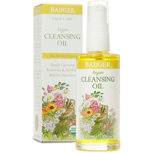 Badger Organic Argan Facial Cleansing Oil 2fl oz 59.1ml