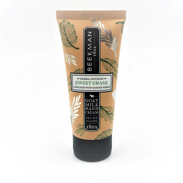 Beekman Goat Milk Hand Cream 2oz 59mL - Sweet Grass