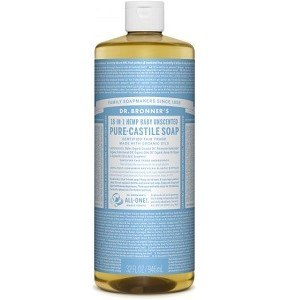 Dr. Bronner's Pure Castile Liquid Soap 32oz 946mL - Baby Unscented