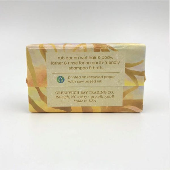 Greenwich Bay Shampoo & Body Bar 4.2oz 119g - Sandalwood