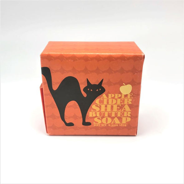 Greenwich Bay Autumn Bar Soap 6.34oz 180g - Apple Cider Cat