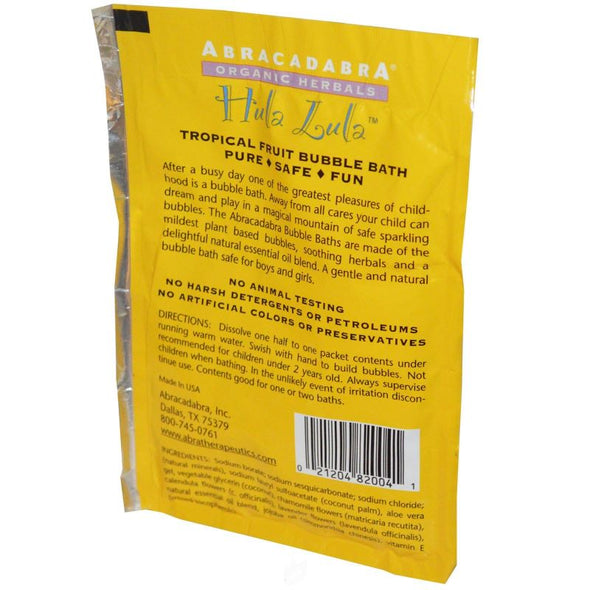 Abra Therapeutics Children's Bubble Bath Packet 2.5oz - Hula Lula