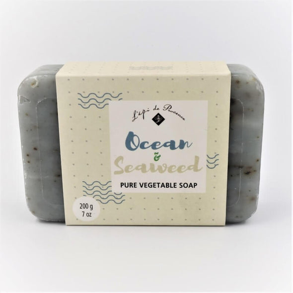 L'epi de Provence French Milled Bar Soap 7oz 200g - Ocean and Seaweed