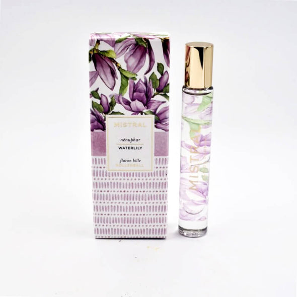 Mistral Papiers Fantaisie EDP Rollerball .27fl oz 8ml - Waterlily