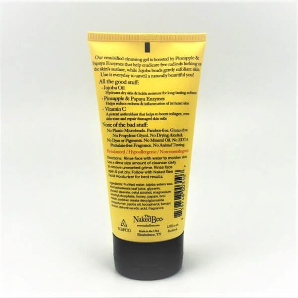 Naked Bee Everyday Facial Cleansing Gel 5.5oz - Orange Blossom Honey