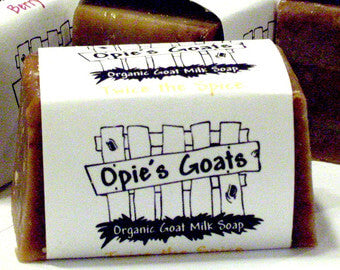 Opie's Goats Made in Wisconsin Organic Goatmilk Bar Soap 4oz - Original