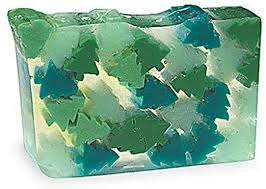 Primal Elements Large Seasonal Soap - Evergreen Twist