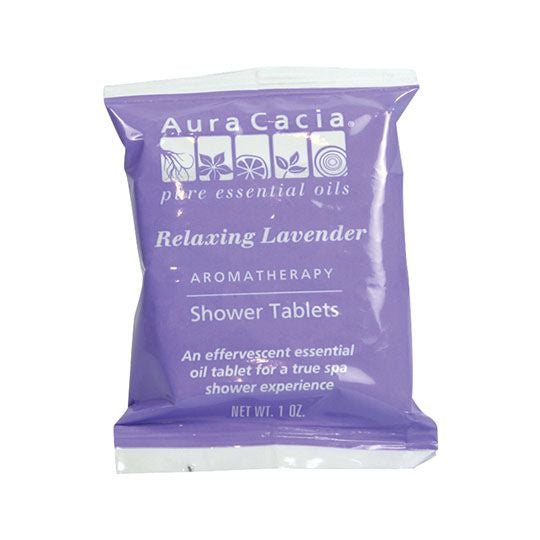 Aura Cacia Aromatherapy Shower Tablets Pack 3oz - Relaxing Lavender