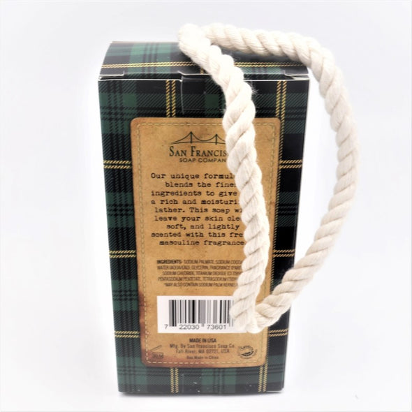 San Francisco Soap Company Soap on a Rope 10.5oz - Forest Musk
