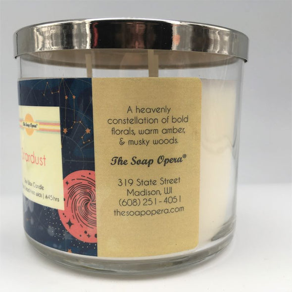 The Soap Opera Soy Wax Candle 14oz 411g - Stardust