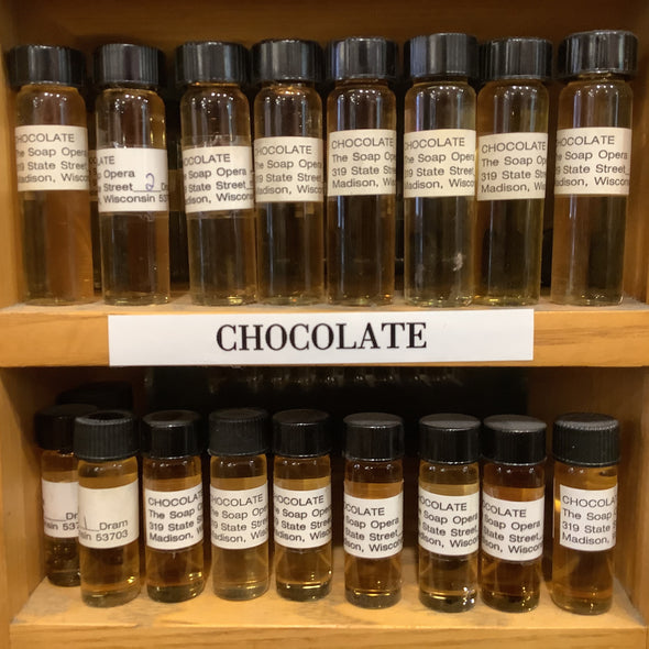 The Soap Opera Pure Perfume Oils - Chocolate