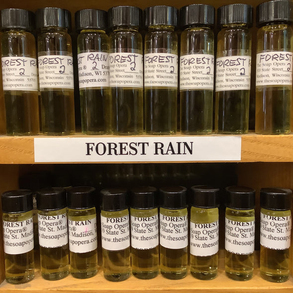 The Soap Opera Pure Perfume Oils - Forest Rain