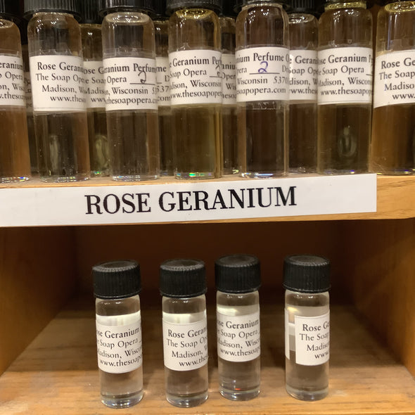 The Soap Opera Pure Perfume Oils - Rose Geranium