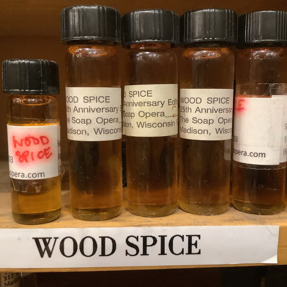 The Soap Opera Pure Perfume Oils - Wood Spice